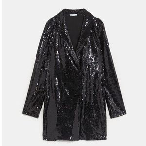 NWT SEXY Zara Sequin party mini dress